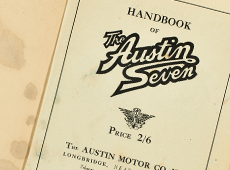 Austin Seven Handbooks and Parts Lists