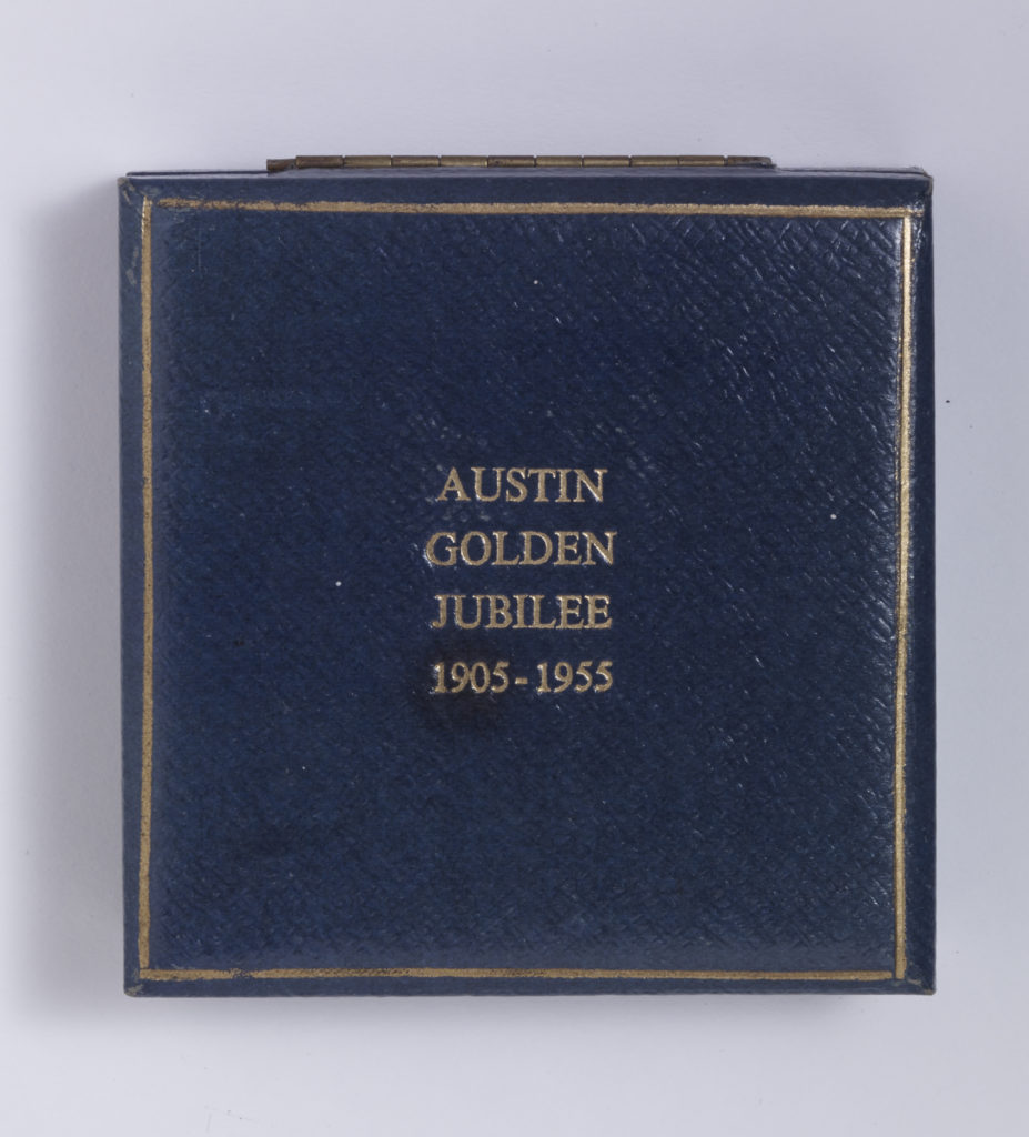 Austin Golden Jubilee 1905 - 1955  - Box closed Image
