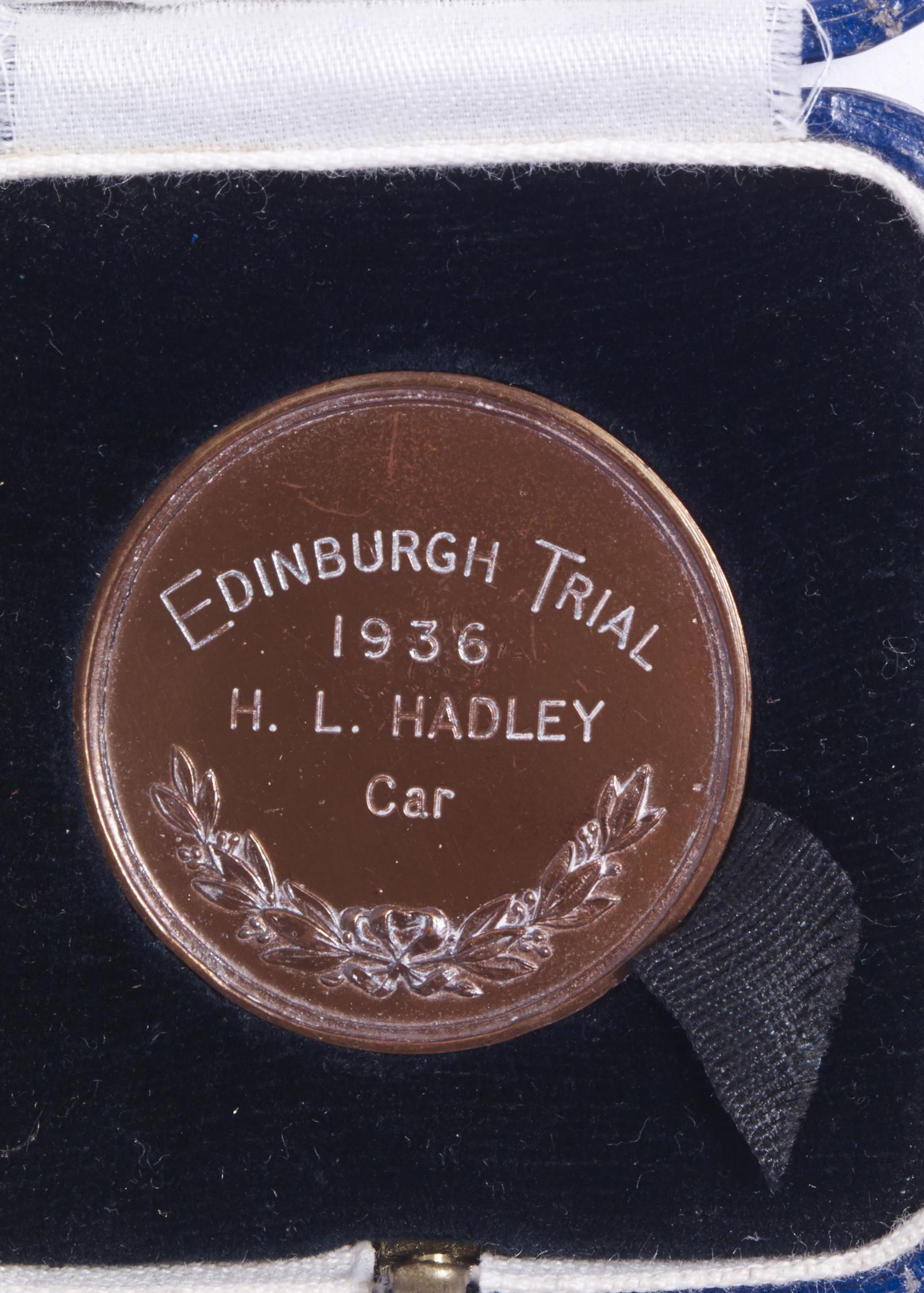 Edinburgh Trial - front Image