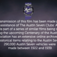 A series of Austin 7 related films are being shown on Talking Pictures TV. This has come about as a result of their recent publication on the Archive web site and we […]