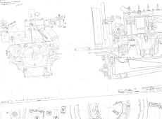 Austin Seven Technical Drawings
