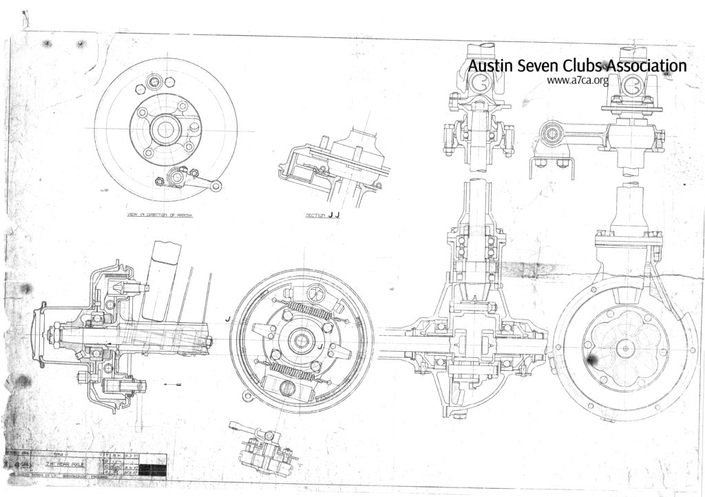 Assembly Drg XL429; 7HP Rear Axle Image