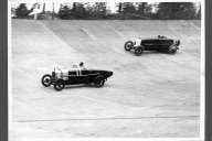 Austin 20 and Talbot at Brooklands